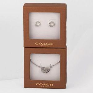 ‼️🎃SALE WAS 130$💯Auth Coach Jewelry Set